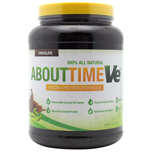 About Time Vegan Protein 2lb SDC Nutrition