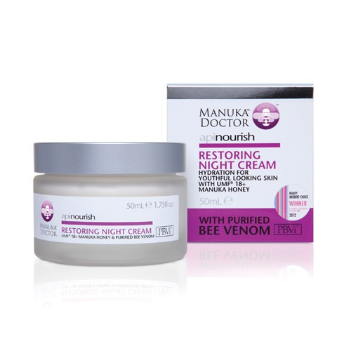 ApiNourish Restoring Night Cream 50ml Manuka Doctor