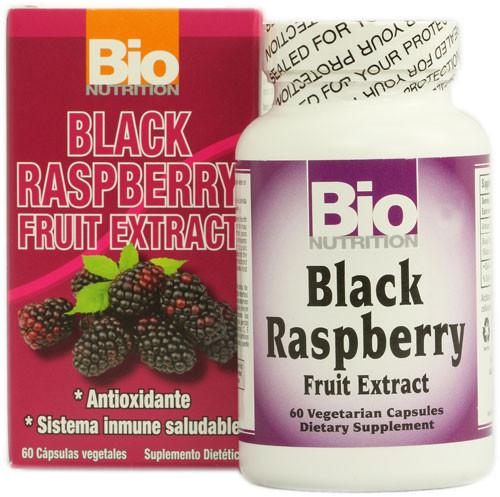 Black Raspberry Fruit Extract 60ct Bio Nutrition