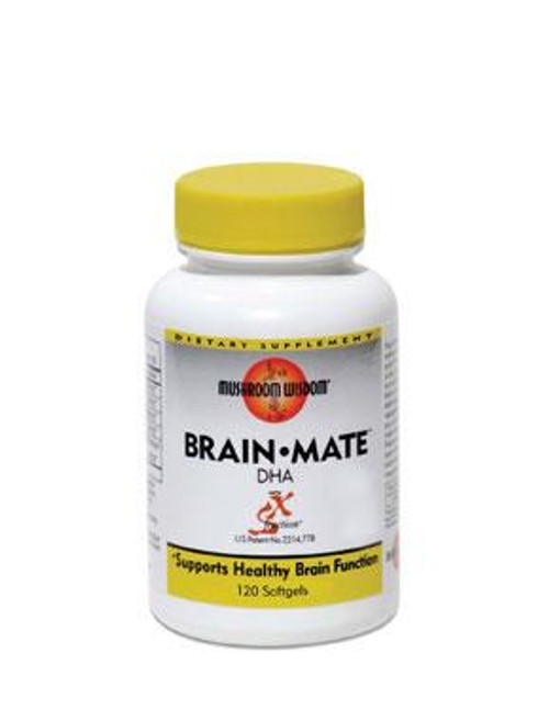 Brain-Mate by Mushroom Wisdom 120ct
