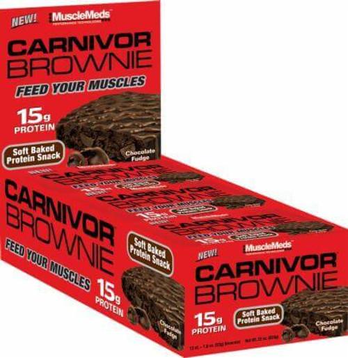 Carnivor Brownies 12ct Muscle Meds