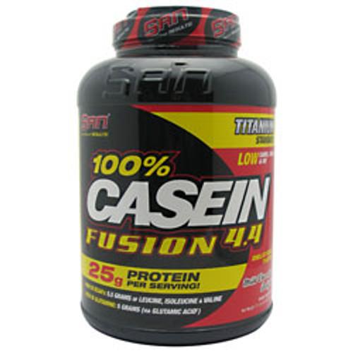 100% Casein Fusion 4.4lb SAN
