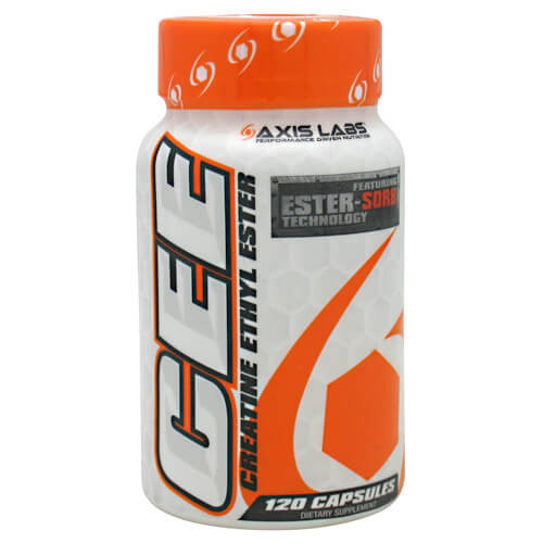 Creatine Ethyl Ester 120ct Axis Labs