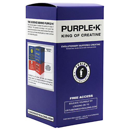 Clearance Purple K 100ct Fusion Bodybuilding
