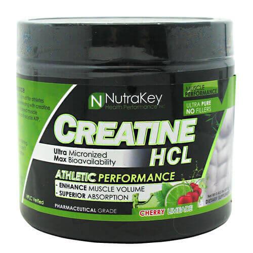 Creatine HCL 125/srv Nutrakey