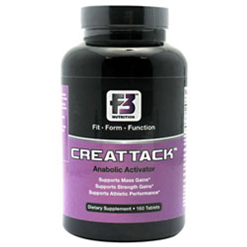 Creattack 160ct F3 Nutrition