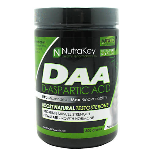 D-Aspartic Acid 300g Nutrakey 100/srv