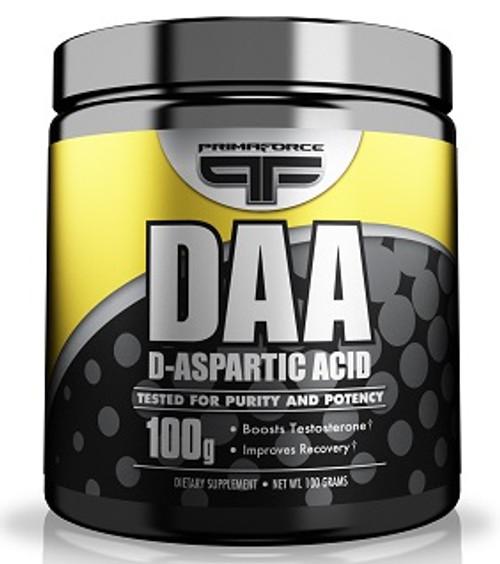 D-Aspartic Acid (DAA) by PrimaFORCE 100g