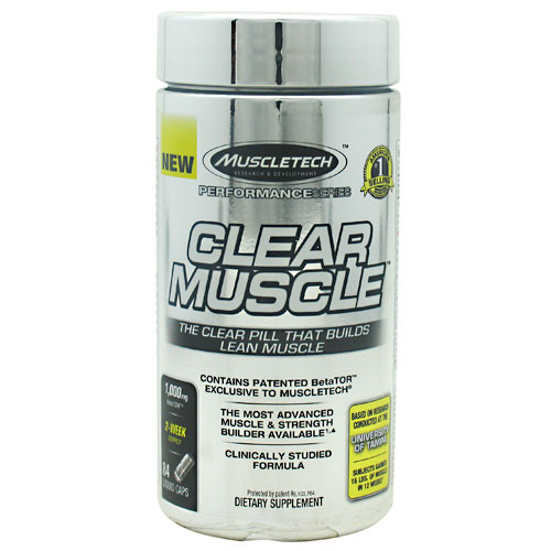 Clear Muscle 84ct MuscleTech