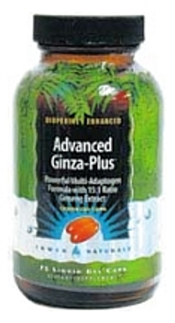 Irwin Naturals Advanced Ginza Plus 75ct Energy and Mood Enhancer