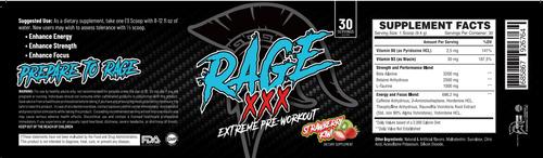 Rage XXX 33sv Centurion Labz