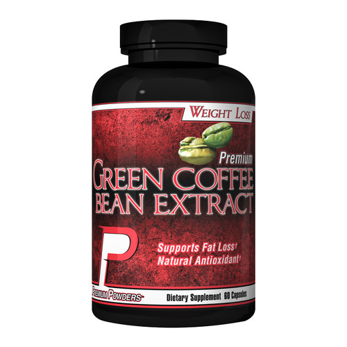Green Coffee Bean Extract by Premium Powders 60ct