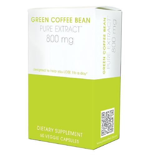 Green Coffee Bean Pure Extract 60ct Creative Bioscience