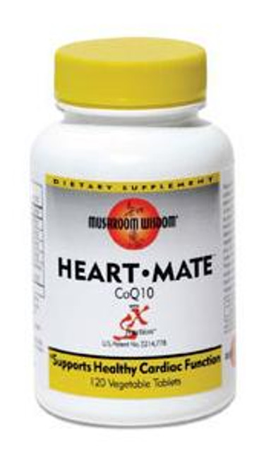 Heart-Mate w/ CoQ10 by Mushroom Wisdom 120ct