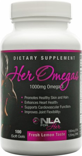 Her Omegas 100ct NLA for Her