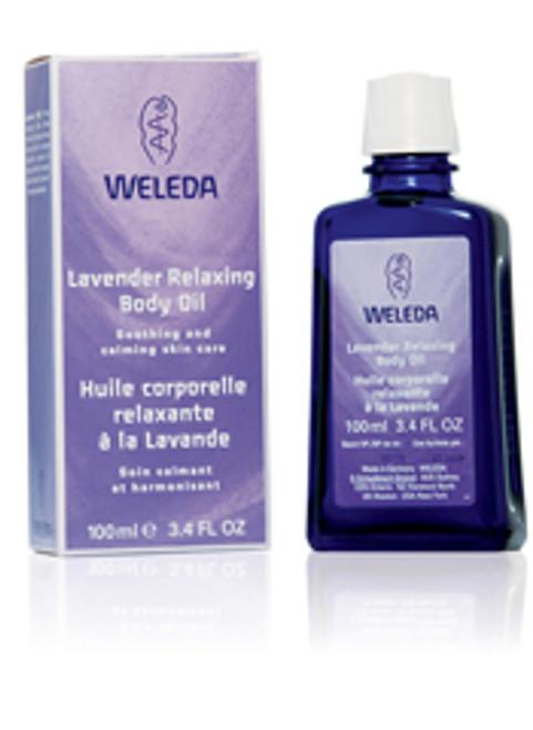 Body Oil Lavendar 3.4oz Weleda