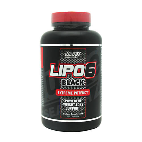 Lipo 6 Black 120ct Nutrex