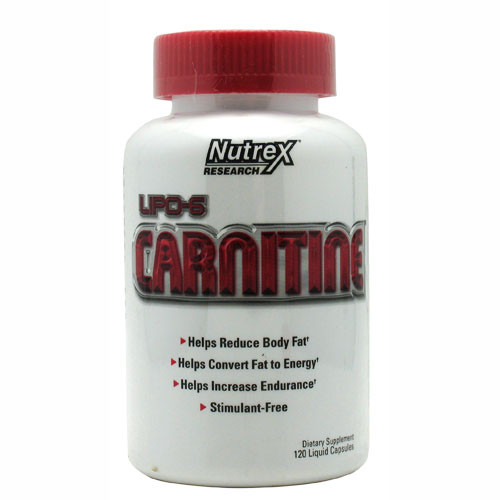 LIPO-6 Carnitine by Nutrex 120ct
