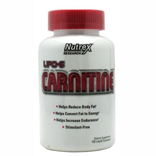 LIPO-6 Carnitine by Nutrex 120ct