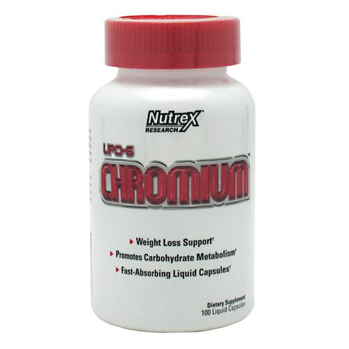 Lipo 6 Chromium 100 Liqui-Caps by Nutrex Research