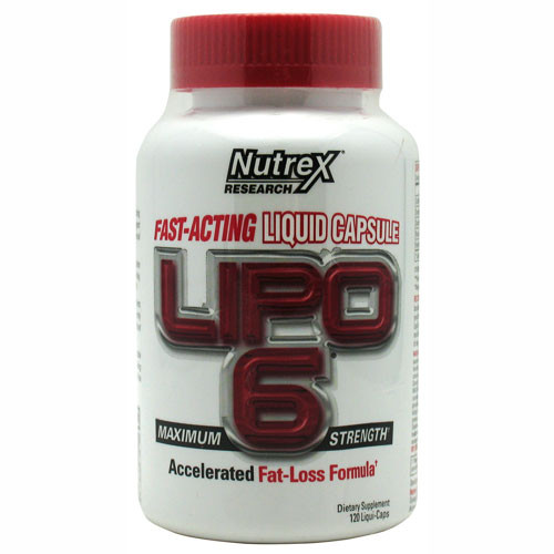 Lipo 6 by Nutrex 120ct