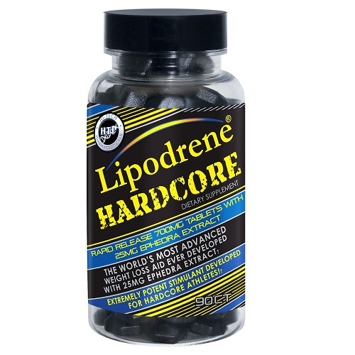 Lipodrene Hardcore Ephedra 90ct Hi-Tech
