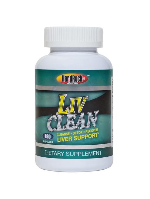Liv Clean 180ct Hard Rock Supplements