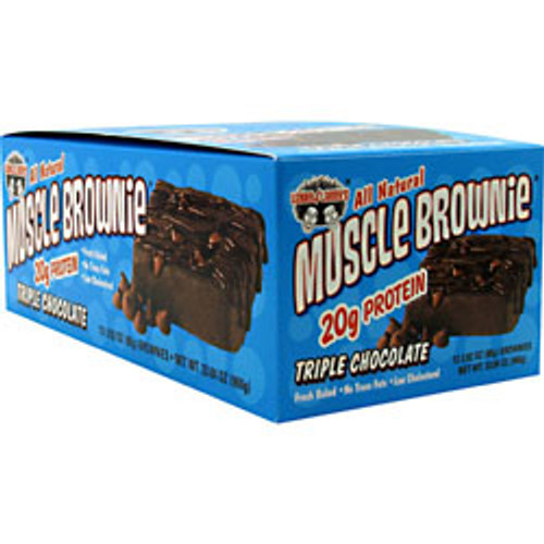 Muscle Brownie 12pk Lenny & Larry's