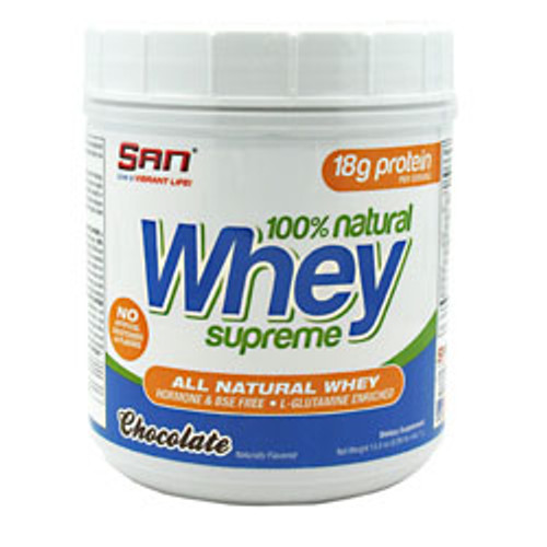 100% Natural Whey Supreme 1lb SAN