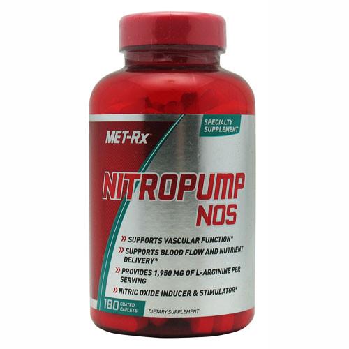 Nitro Pump NOS by MET-Rx 180ct