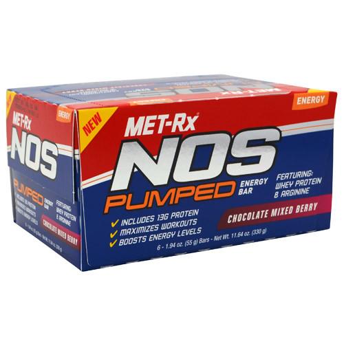 NOS Pumped by MET-Rx 6bars