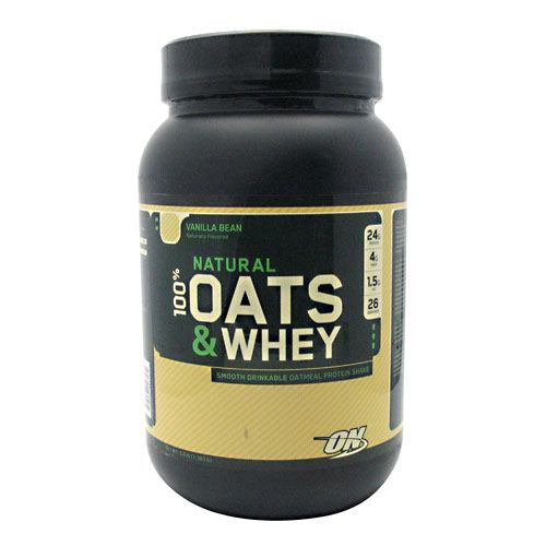 100% Natural Oats & Whey Protein 3lb Optimum Nutrition