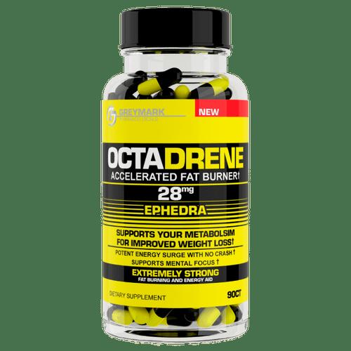 Octadrene Ephedra 90ct Greymark Pharmaceuticals