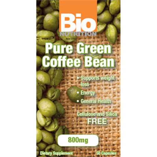 Pure Green Coffee Extract 50ct Bio Nutrition