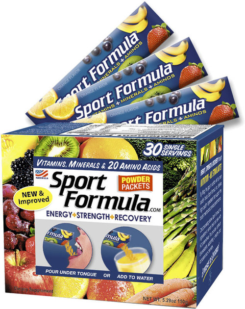 Sport Formula Vitamin Powder Packets 30ct