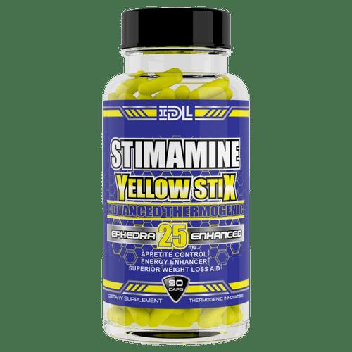 Stimamine Yellow Stix Ephedra 90ct Innovative Diet Labs