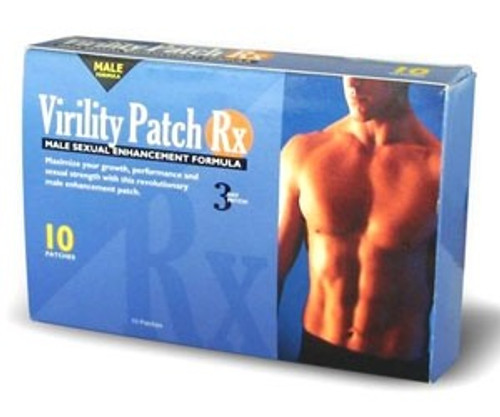 Virility Patch Rx 10ct Eyefive I Supplements