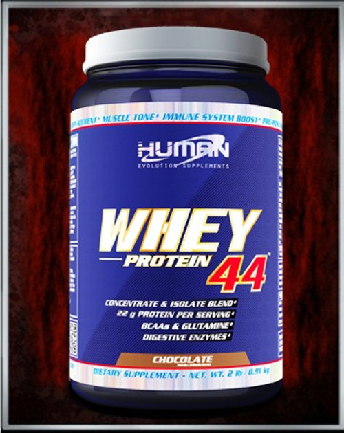 Whey Protein 44 by Human Evolution Supplements 2lb