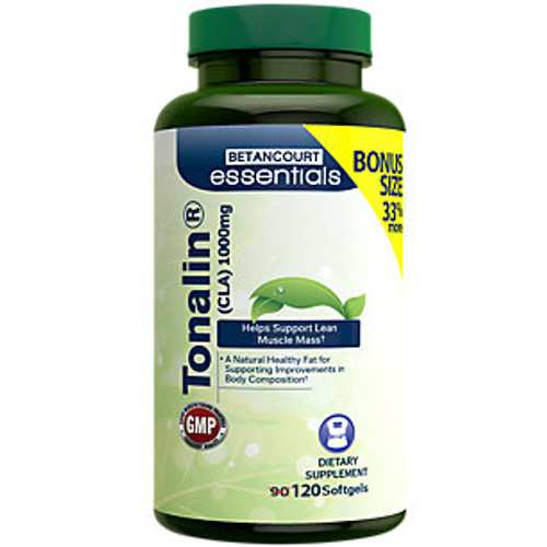 Clearance Tonalin CLA 120ct Betancourt Essentials