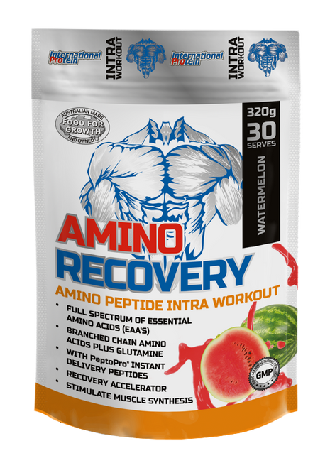 Clearance Amino Recovery 30sv International Protein