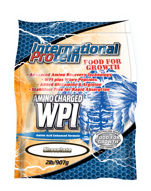CLEARANCE AMINO CHARGED WPI 2lb International Protein