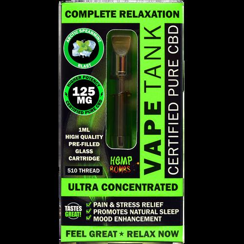 CBD Vape Tank by Hemp Bombs