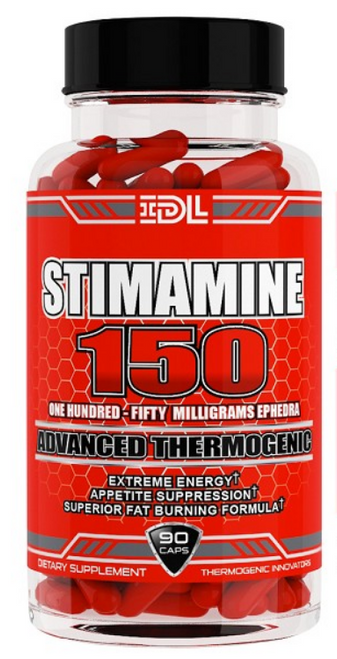 Stimamine 150 Ephedra by IDL