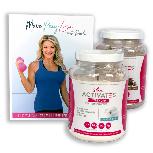 She Activates Move, Pray, Love Weight Loss Kit and Lifestyle Plan