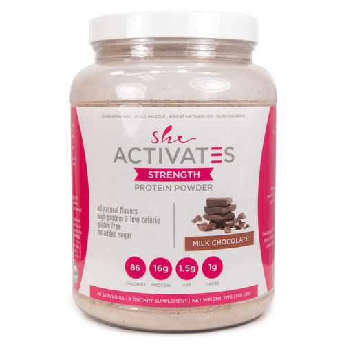 She Activates Weight Loss Protein