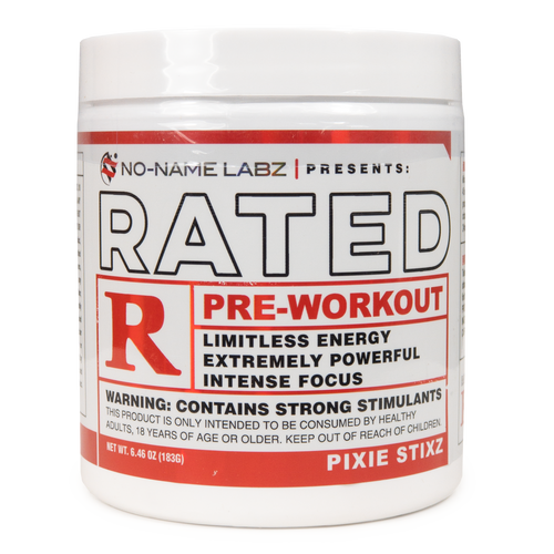 Rated R With Dmaa By No Name Labz I Supplements