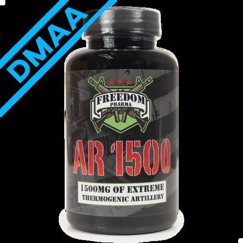 AR 1500 with DMAA by Freedom Pharma