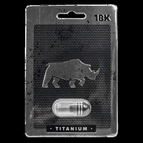 Rhino Titanium 18K Sex Enhancer 1ct