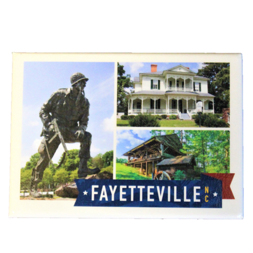 Fayetteville Photo Collage Magnet