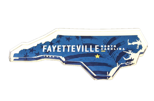Fayetteville  Acrylic Magnet